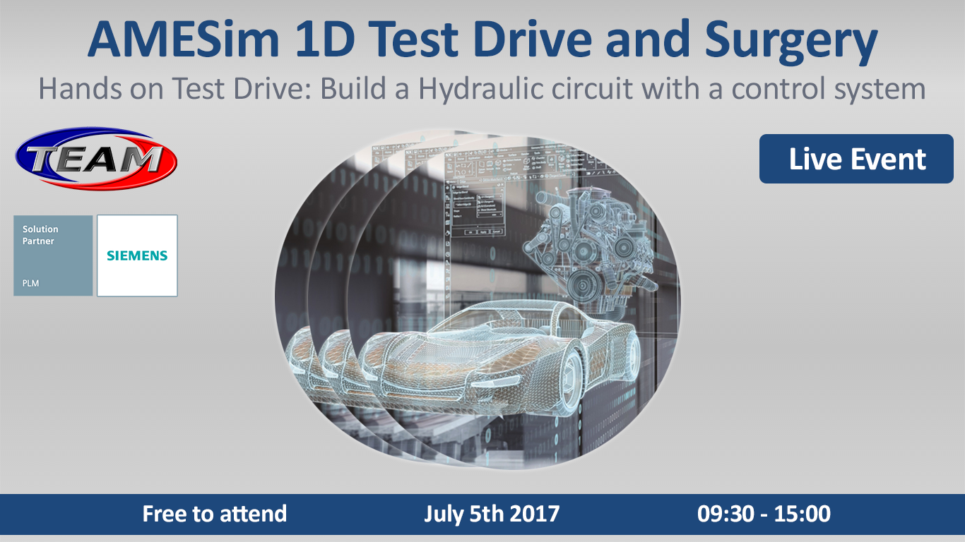AMESim 1D: Test Drive & Surgery Live Event