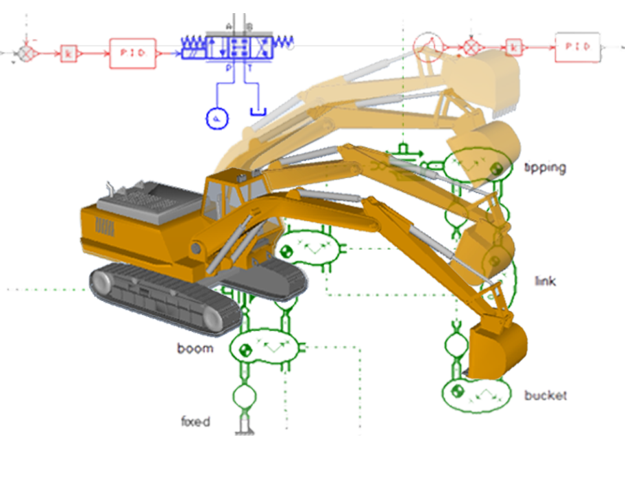 AMESim 1D (System simulation)