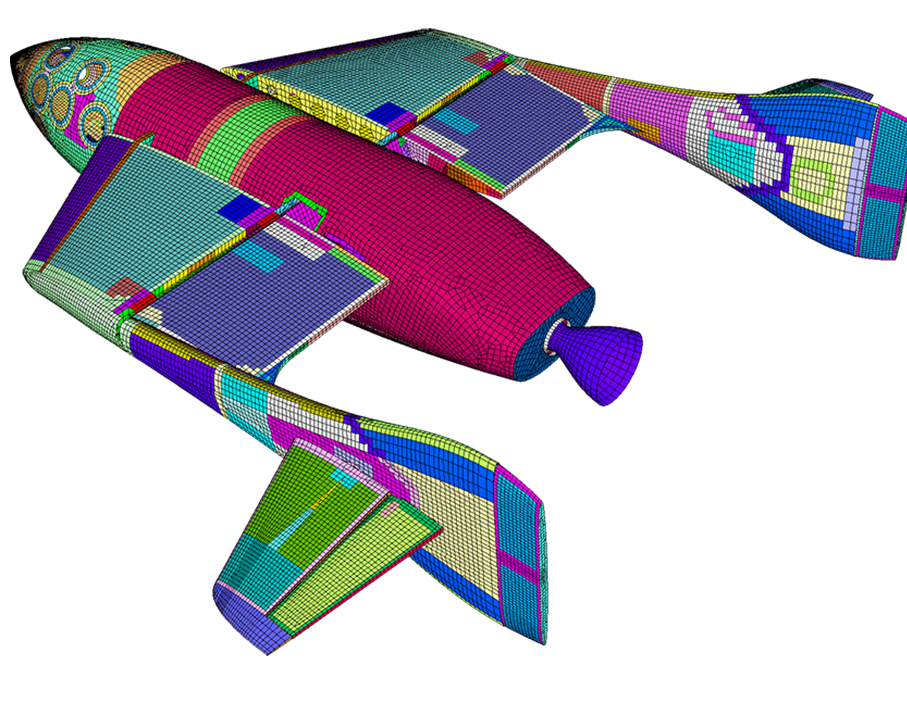 FEMAP CAE (Finite element analysis)