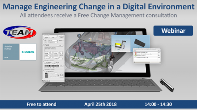 Manage engineering change webinar